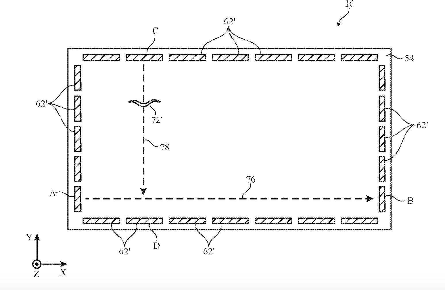 Patent Apple opisujący wykrywanie uszkodzeń w szybach.