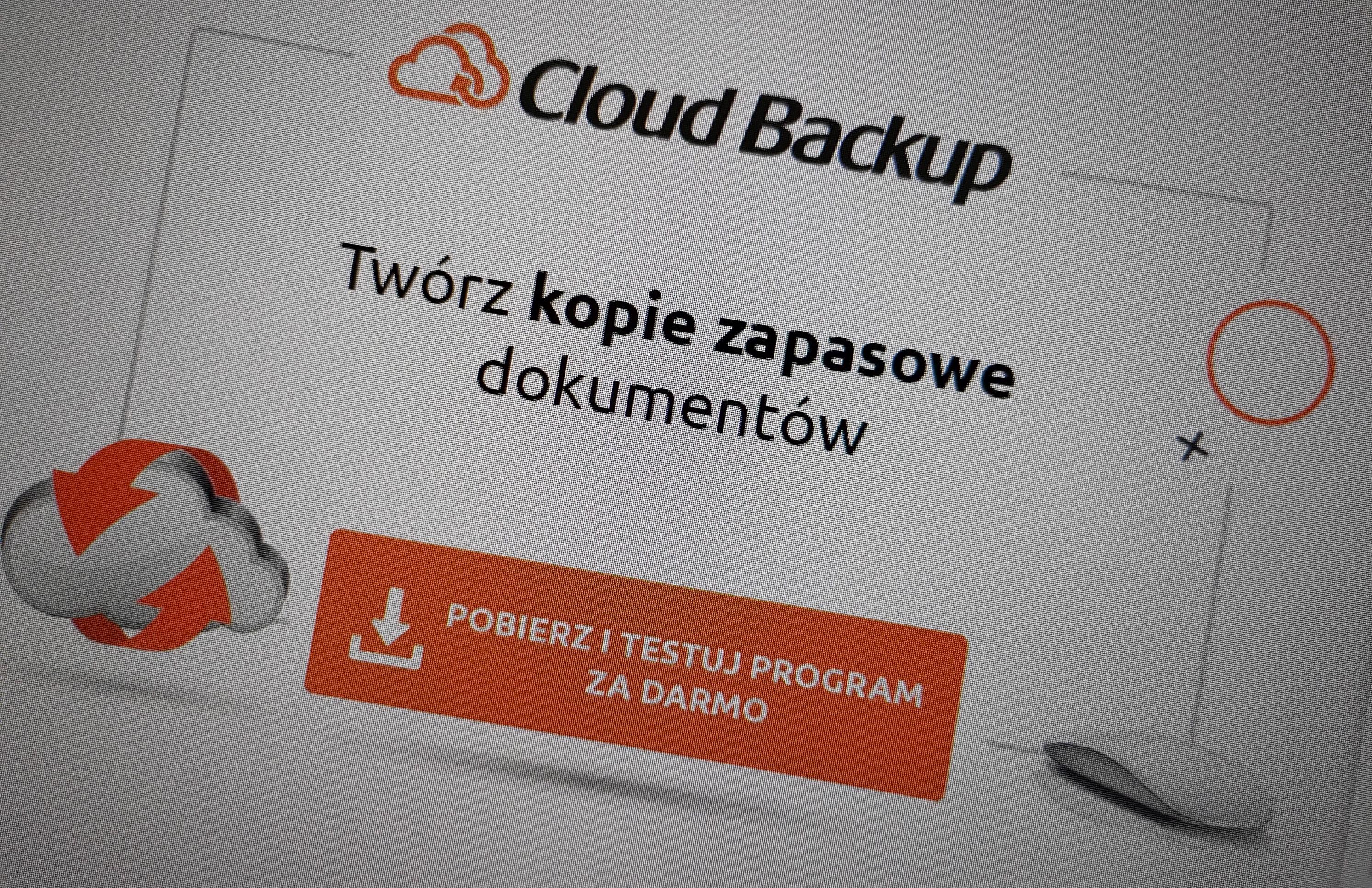 Recenzja Cloud Backup w nazwa.pl. Prosto i bardzo skutecznie