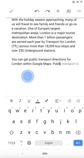 Dokumenty Google.