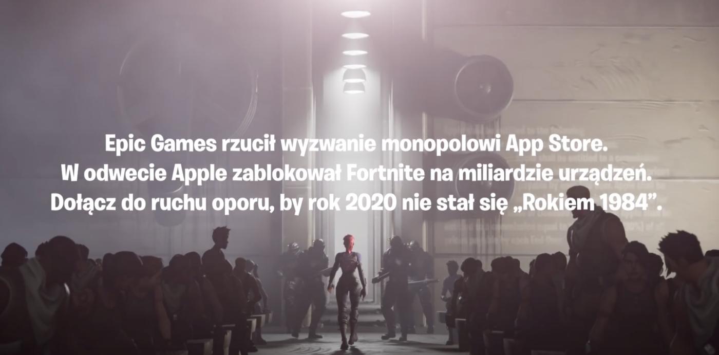"""Fortnite – reklama """"1984"""""""