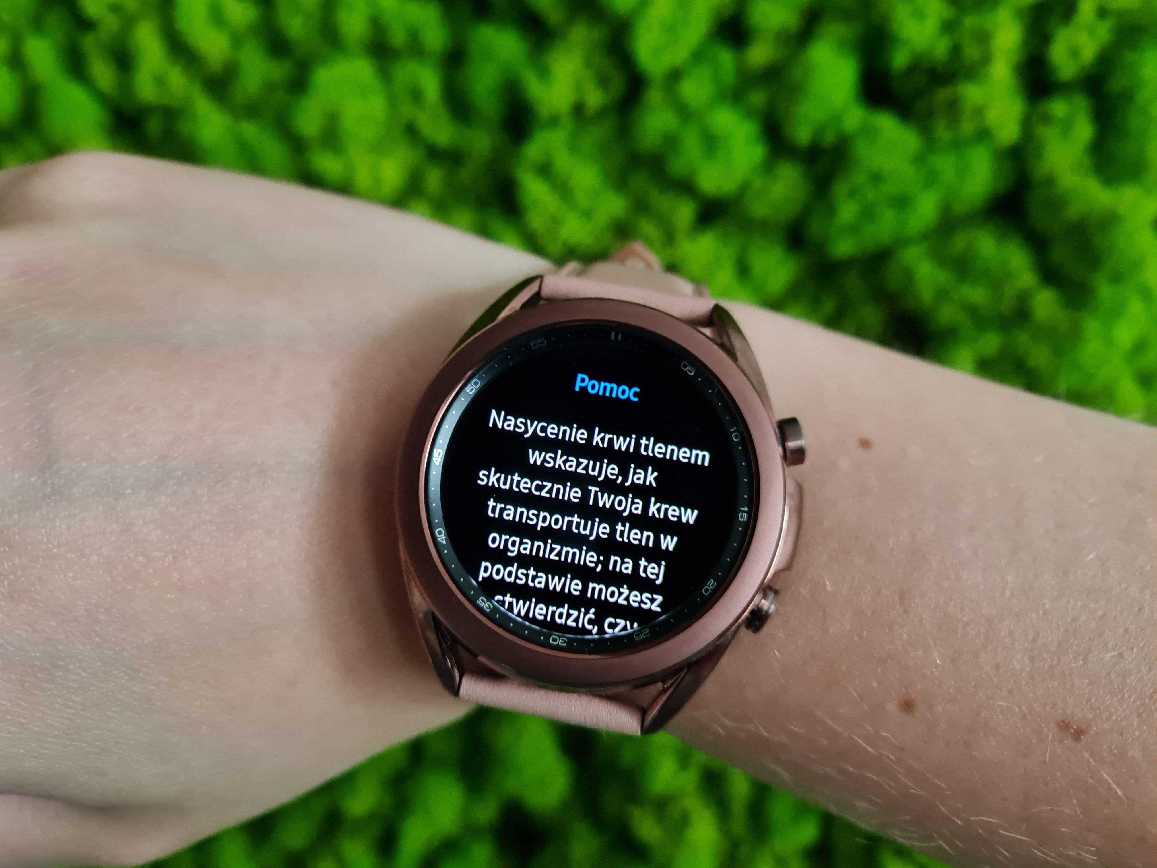 W Polsce już to mamy, inni dostali w aktualizacji - saturacja krwi w Galaxy Watch 3