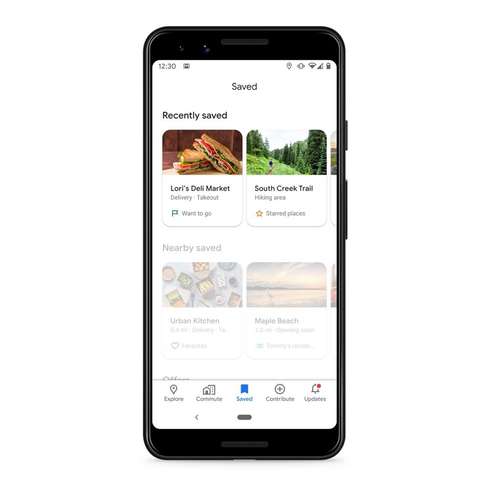 Mapy Google - zapisane 1