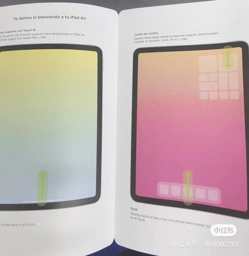 Konferencja Apple – instrukcja do iPada Air 4.