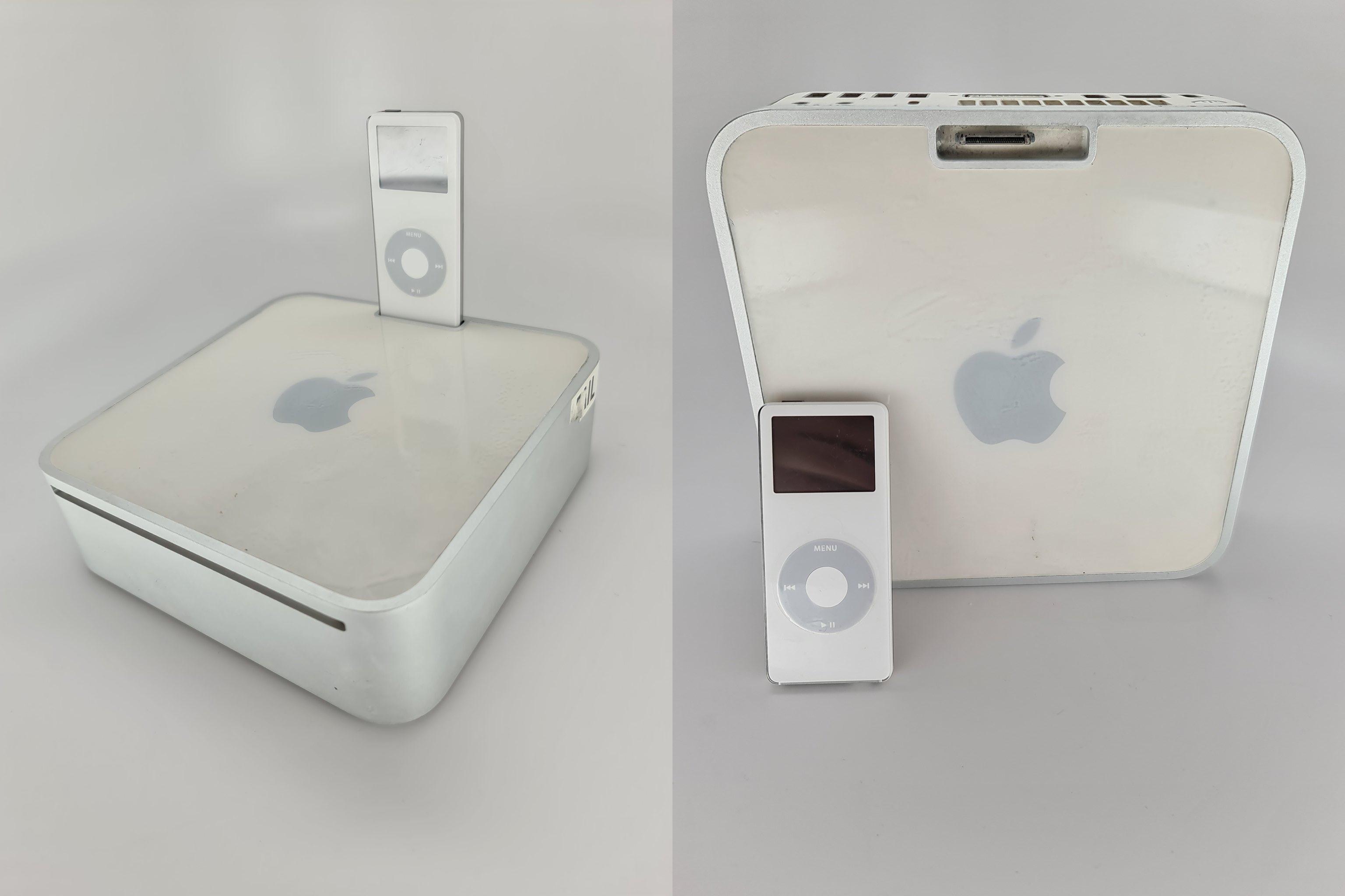 Mac mini i iPad nano