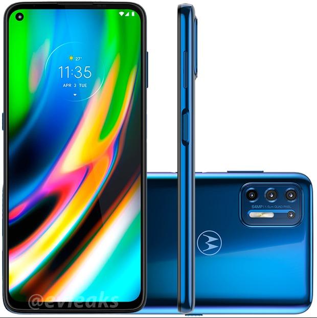 Popatrzcie sobie. Motorola Moto G9 Plus i Moto E7 Plus na szczegółowych grafikach