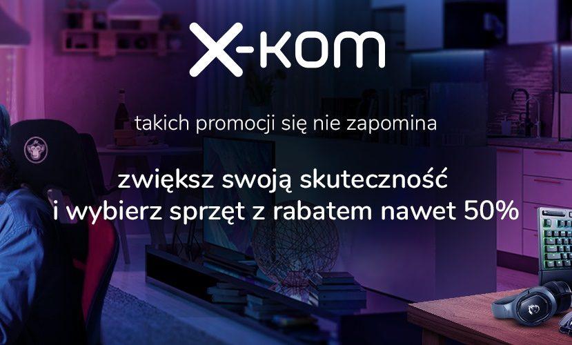 promocja x-kom sprzęt do grania