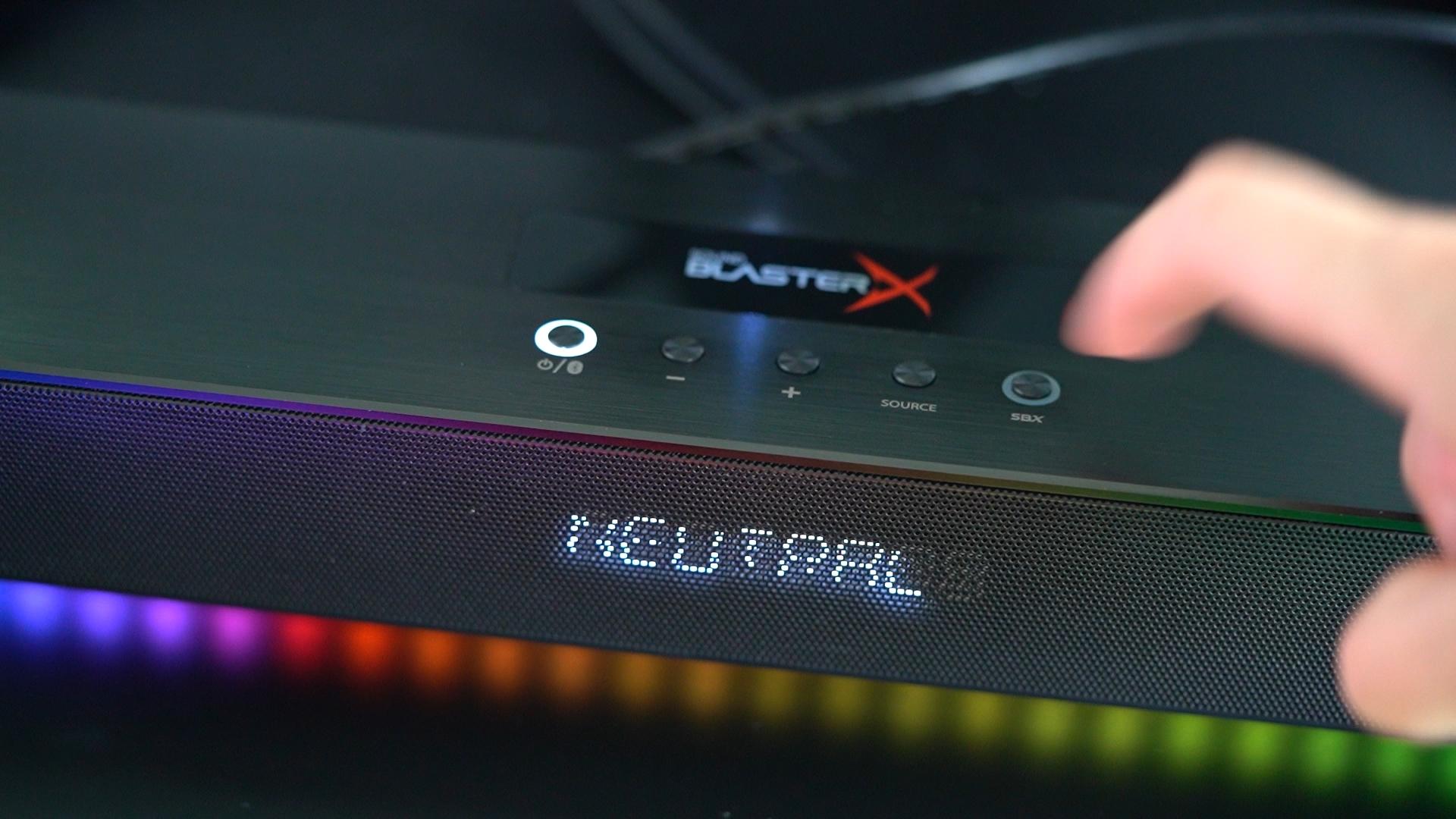 Creative Sound Blaster X Katana - najlepszy soundbar do grania! 26 Creative Sound Blaster X Katana
