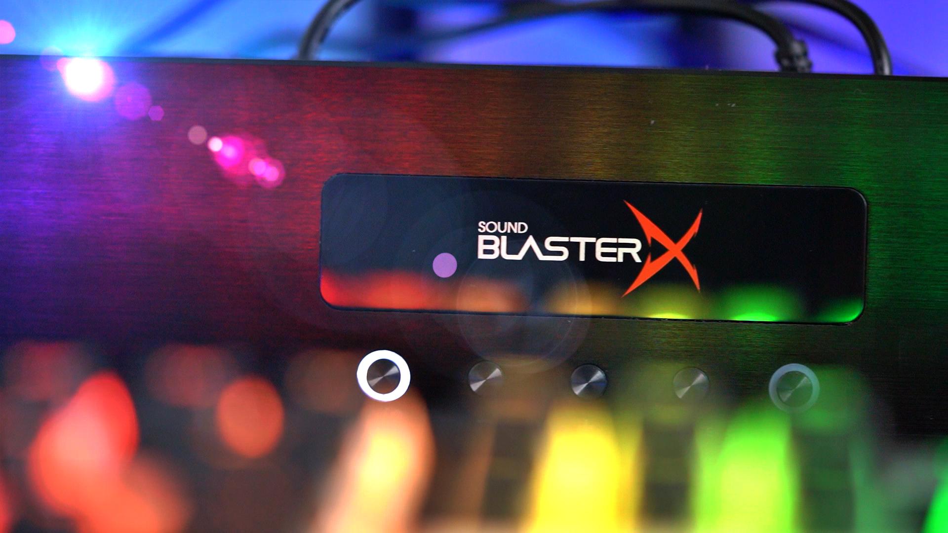 Creative Sound Blaster X Katana - najlepszy soundbar do grania! 19 Creative Sound Blaster X Katana