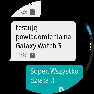 Chciałabym, żeby działał dłużej - taki jest fajny. Recenzja Samsung Galaxy Watch 3 80 samsung galaxy watch 3