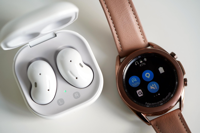 Samsung zaszalał! Opłacalne okazje na słuchawki Galaxy Buds Live i smartwatch Galaxy Watch 3