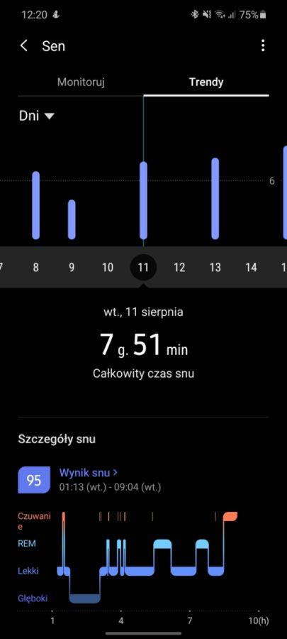 Chciałabym, żeby działał dłużej - taki jest fajny. Recenzja Samsung Galaxy Watch 3 52 samsung galaxy watch 3