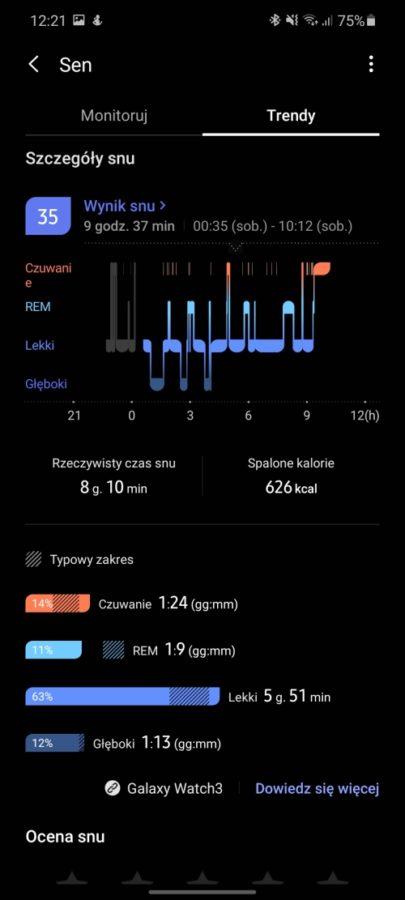 Chciałabym, żeby działał dłużej - taki jest fajny. Recenzja Samsung Galaxy Watch 3 56 samsung galaxy watch 3