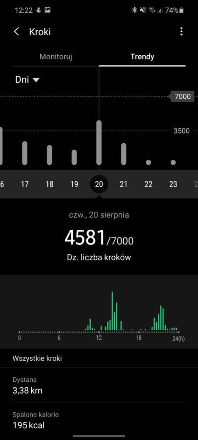 Chciałabym, żeby działał dłużej - taki jest fajny. Recenzja Samsung Galaxy Watch 3 58 samsung galaxy watch 3