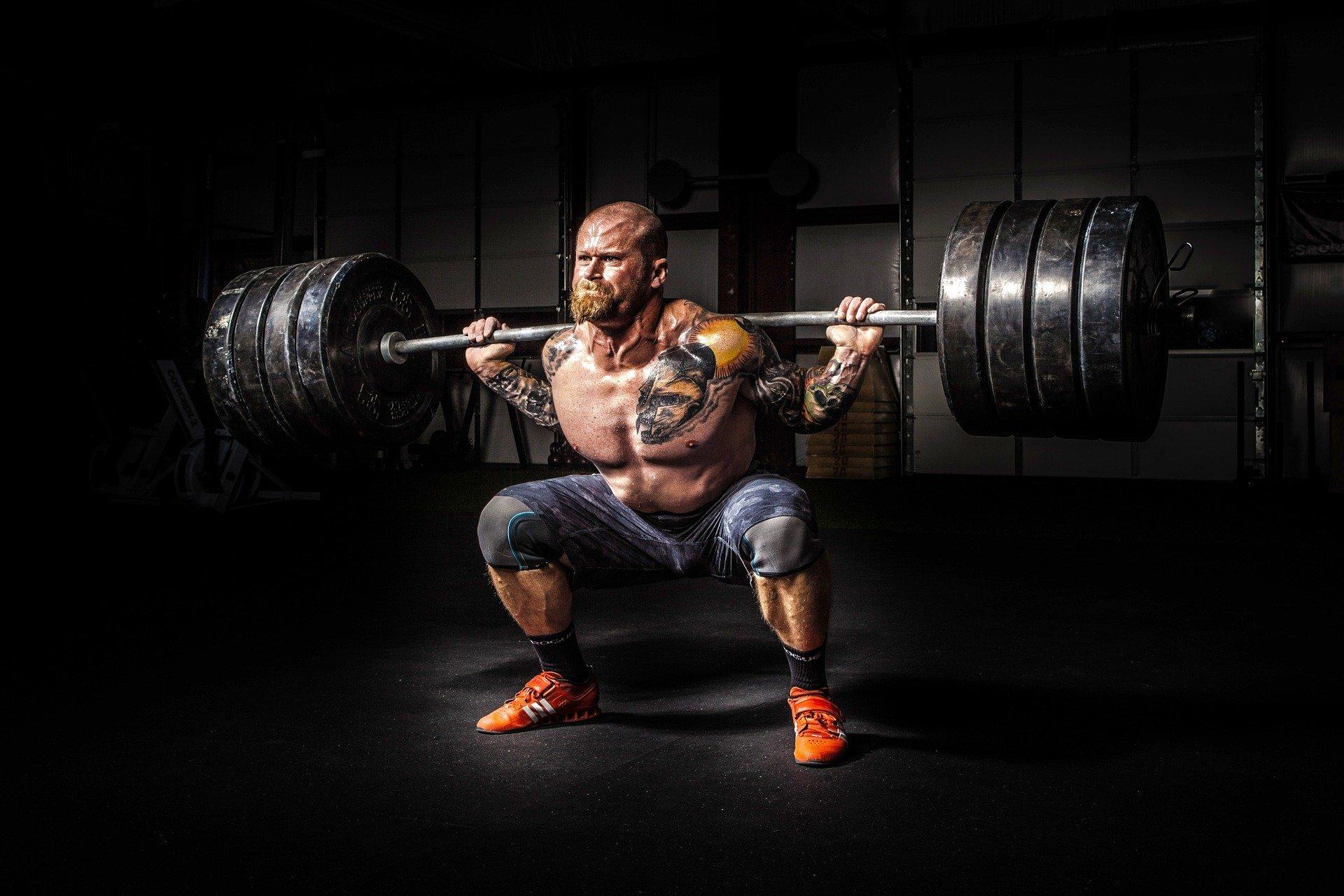 siłacz mężczyzna man stron power athlete