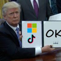 45 dni - tyle czasu Trump dał Microsoftowi na wykupienie amerykańskiego TikToka 19