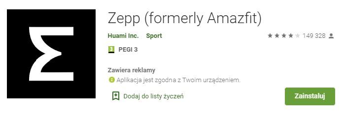 Zegarki Amazfit doczekały się odświeżenia aplikacji zarządzającej smartwatchem 20 amazfit