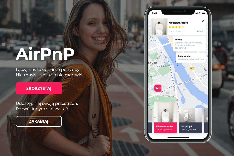 AirPnP – udostępniaj swoją toaletę i zarabiaj. Poznajcie nową aplikację