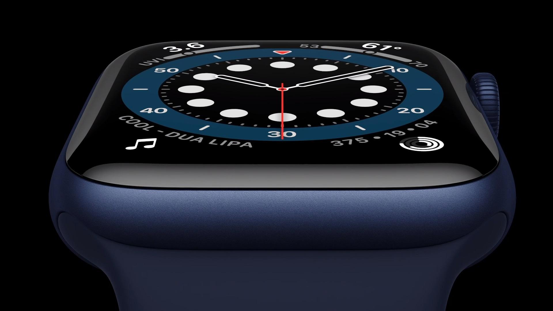 Apple Watch series 6 smartwatch