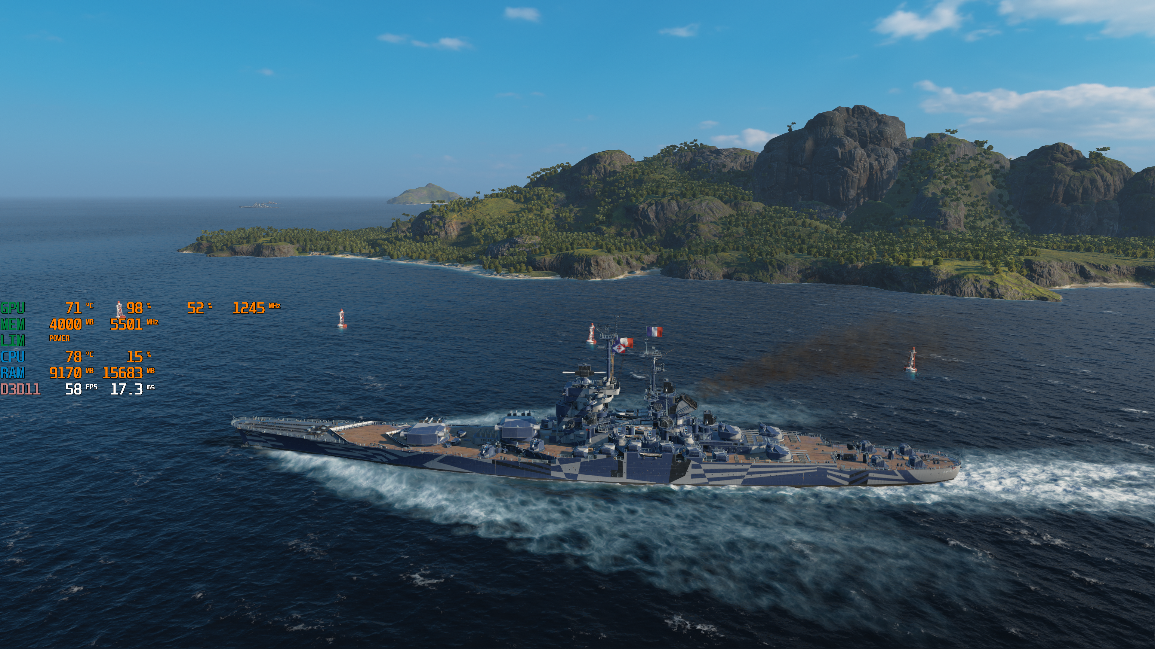 Asus GX550L Zephyrus Duo CPU - World of Warships