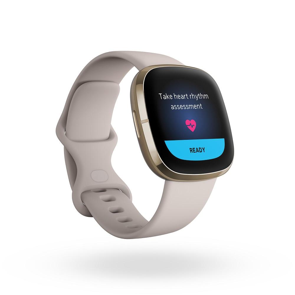 smartwatch Fitbit Sense ECG feature funkcja EKG