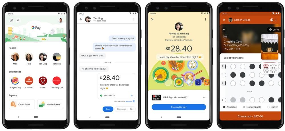 Funkcja dzielenia rachunku trafi do Google Pay w Singapurze