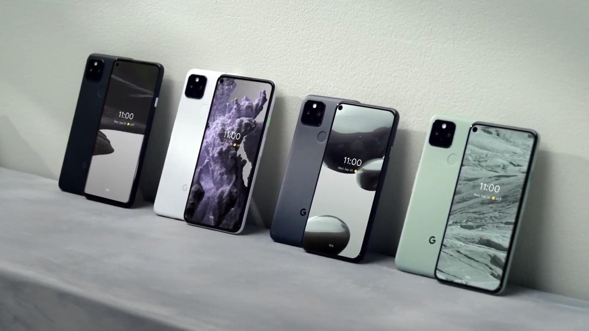 smartfon Google Pixel 5 Pixel 4a 5G smartphone