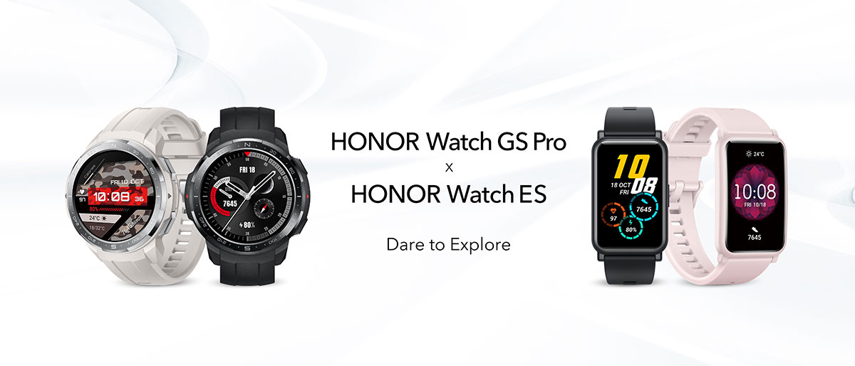 Honor Watch GS Pro Honor Watch ES smartwatch