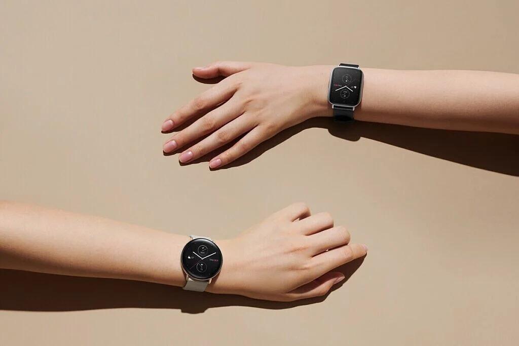 Jeden smartwatch Huami w dwóch wersjach - okrągłej i prostokątnej. Znakomity pomysł!
