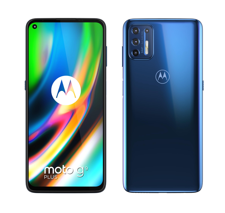 Motorola Moto G9 Plus Navy Blue