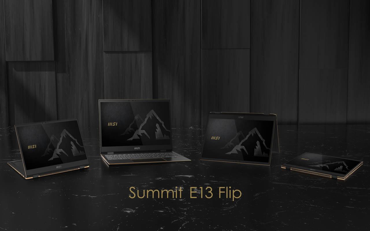MSI Summit E13 Flip laptop