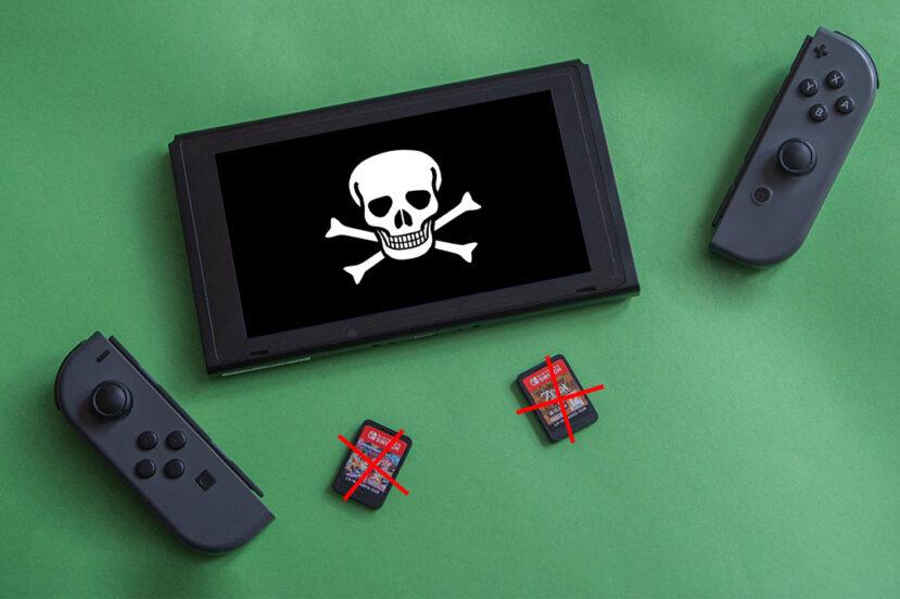 Nintendo Switch Piractwo