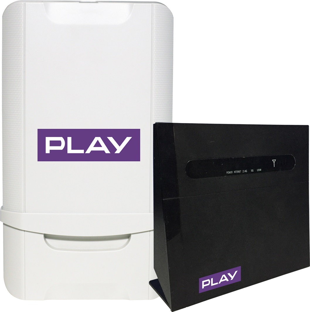 Play NET BOX router ZTE