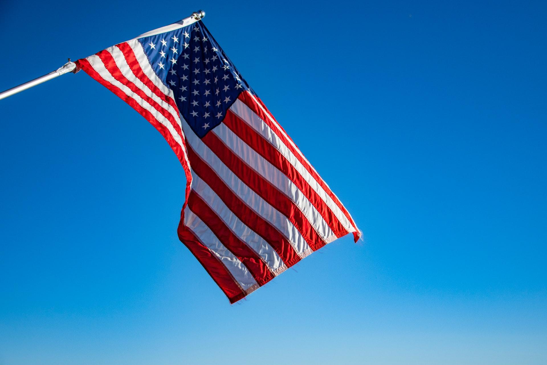 Stany Zjednoczone USA flaga