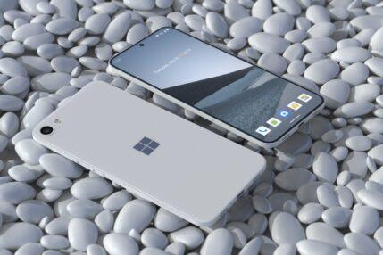 Tak mógłby wyglądać Surface Phone, gdyby nie podwójny ekran Surface Duo