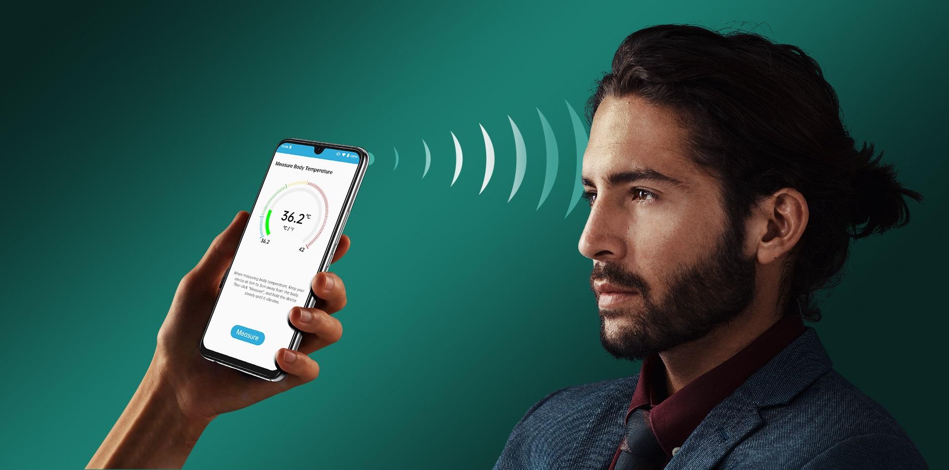 smartfon UMIDIGI A9 Pro smartphone thermometer