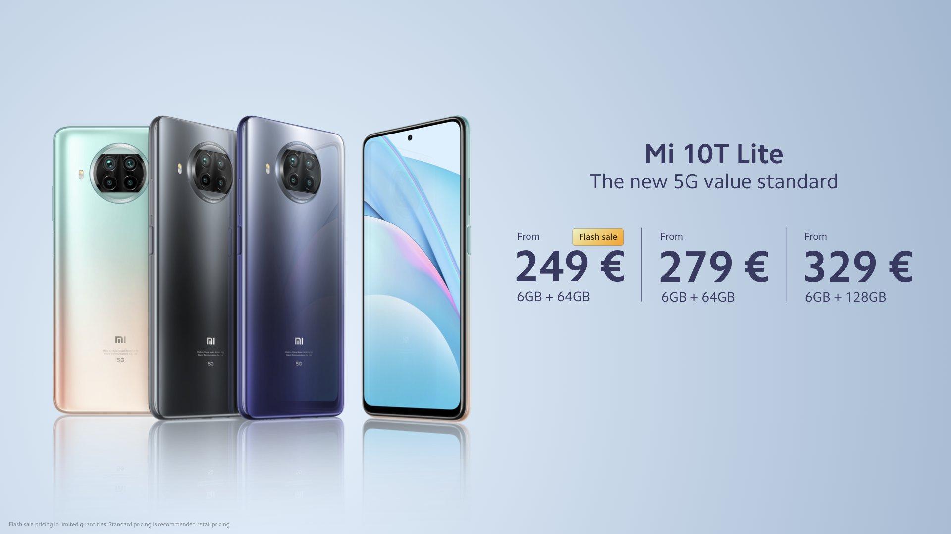 smartfon Xiaomi Mi 10T Lite smartphone