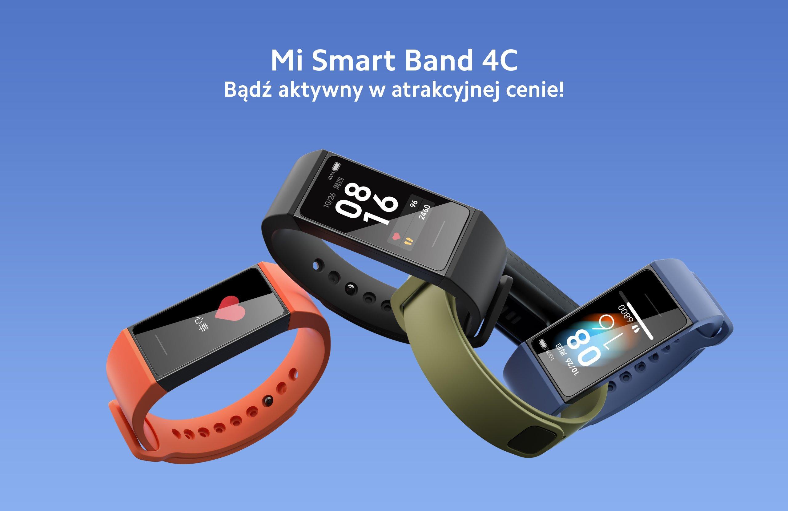 opaska Xiaomi Mi Band 4C smart band