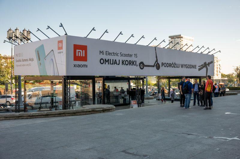 strefa Xiaomi Mi Pop Up Store Warszawa