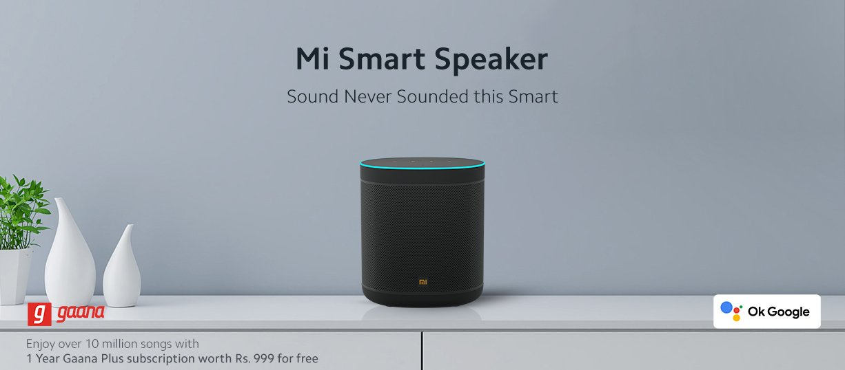 inteligentny głośnik Xiaomi Mi Smart Speaker
