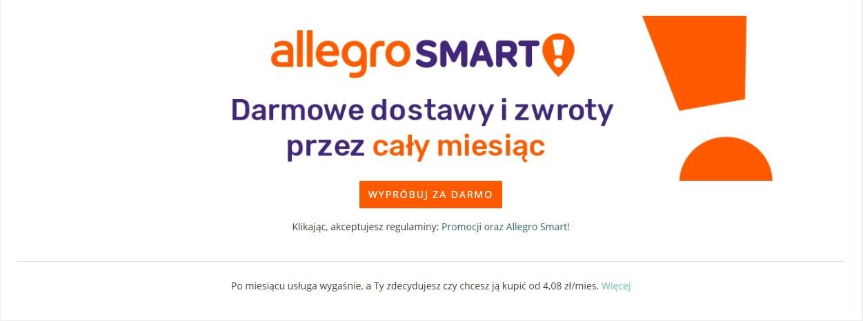 Allegro Smart na miesiąc za darmo