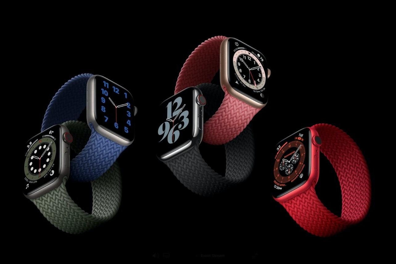 Apple Watch series 6 z paskiem Single Loop i budżetowy Watch SE - oto dwa nowe smartwatche z Cupertino