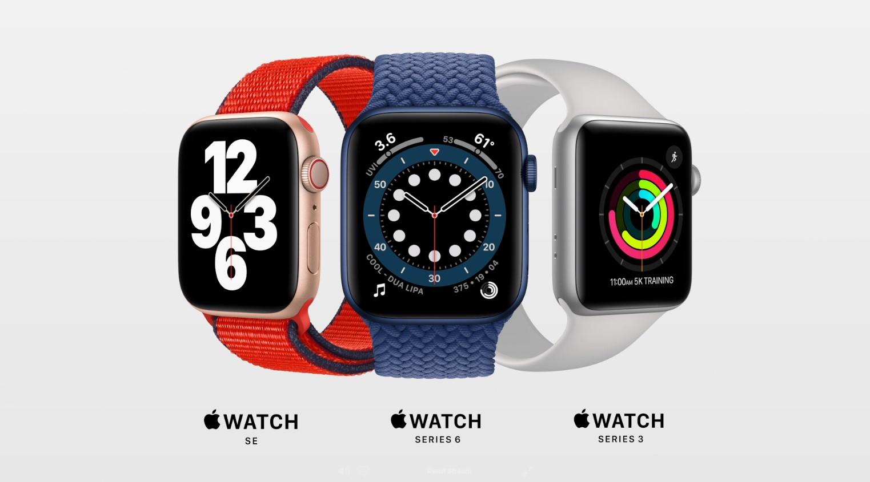 Apple Watch series 6 z paskiem Single Loop i budżetowy Watch SE - oto dwa nowe smartwatche z Cupertino 19 Apple Watch