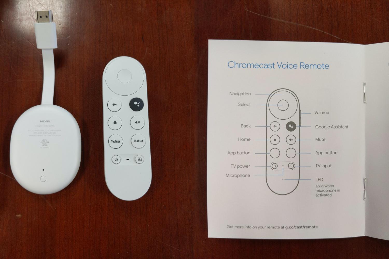 Chromecast z Google TV.