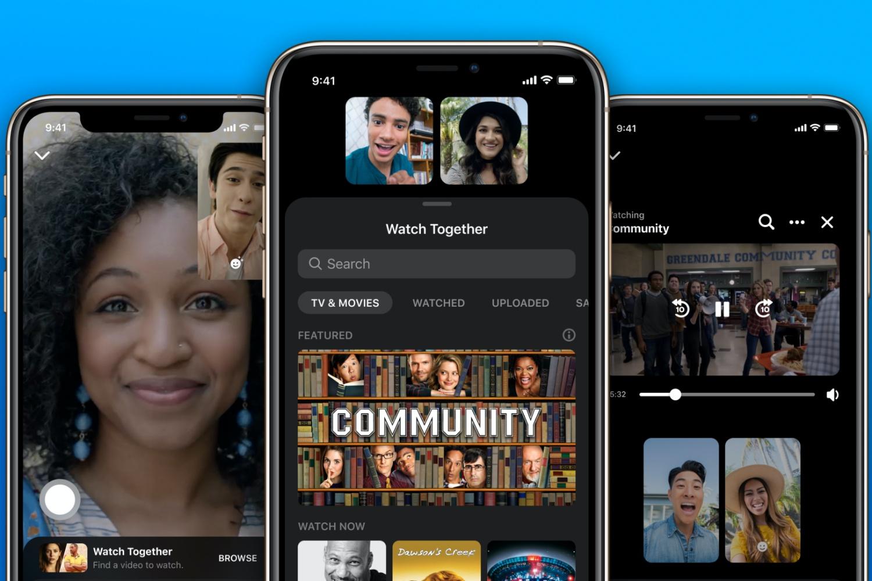 Facebook Watch Together, czyli wspólne oglądanie filmów na Messengerze