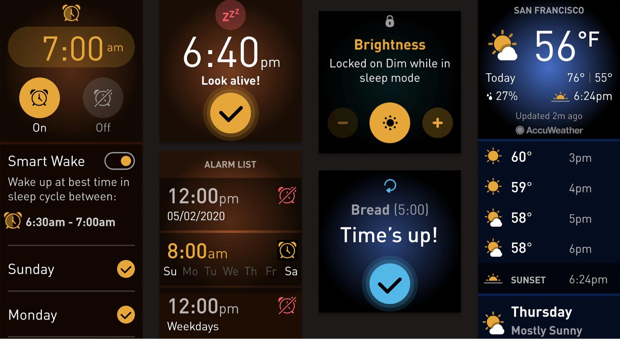 Nowy wygląd UI w najnowszym systemie od Fitbit