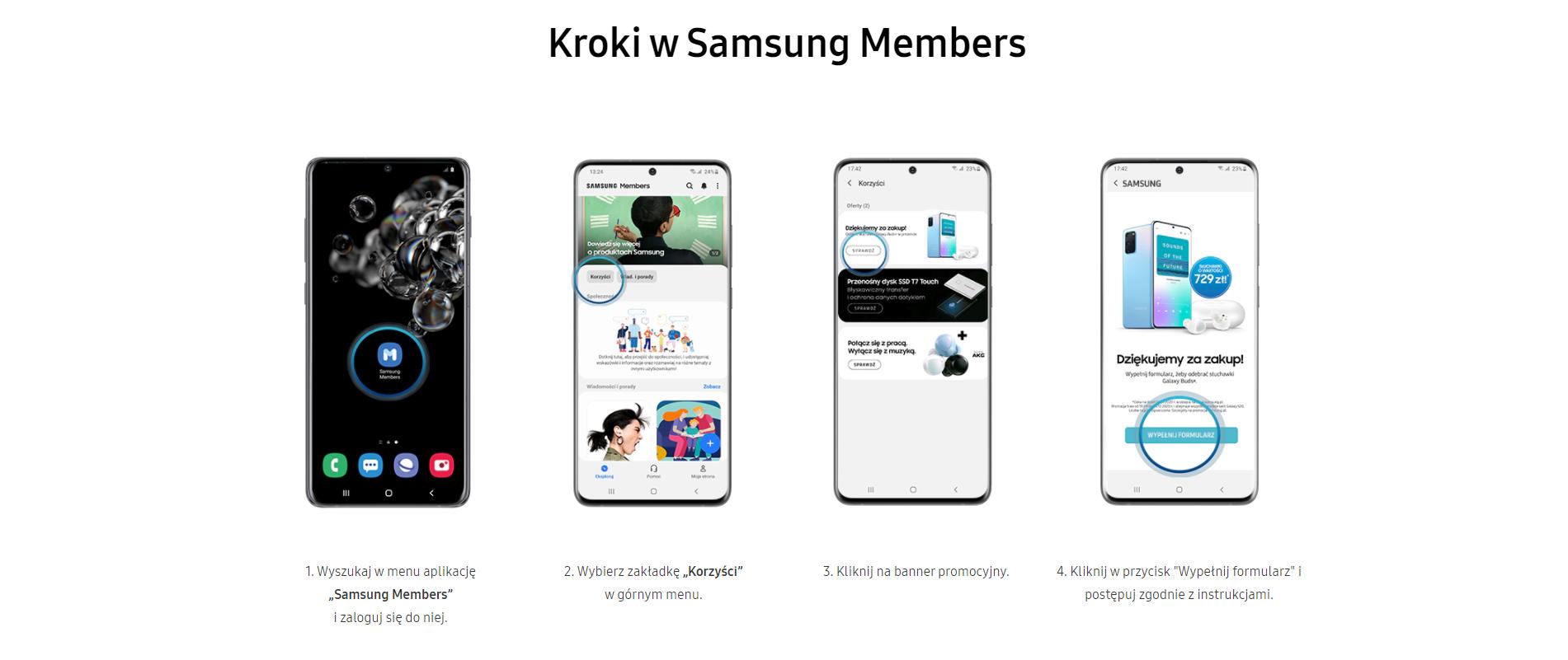 Galaxy Buds+ - jak skorzystać z promocji?