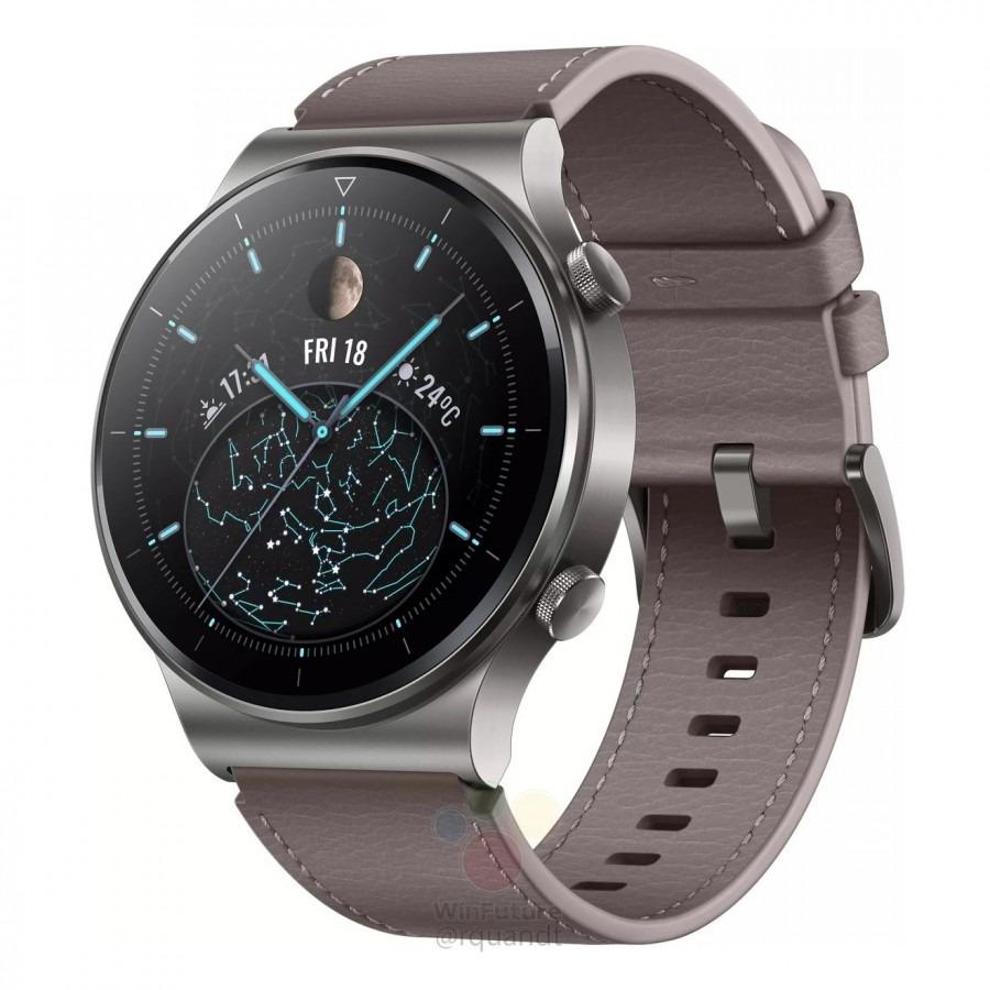 Wiemy, jak wygląda i co ma w środku. Huawei Watch GT2 Pro przed premierą