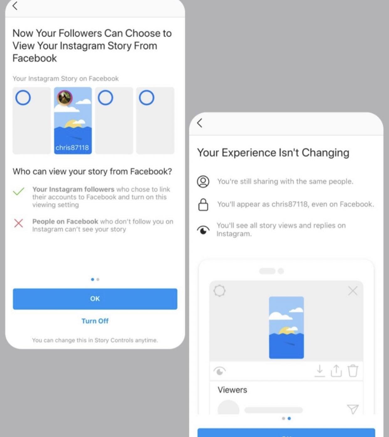 Facebook będzie wyświetlał Instagram Stories