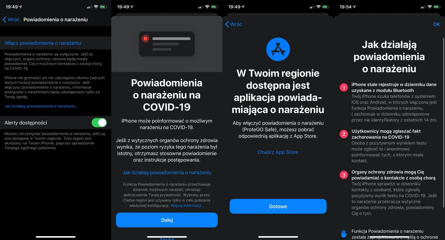 iOS 13.7 już dostępny. Powiadomienia ostrzegające przed COVID-19 bez instalowania aplikacji