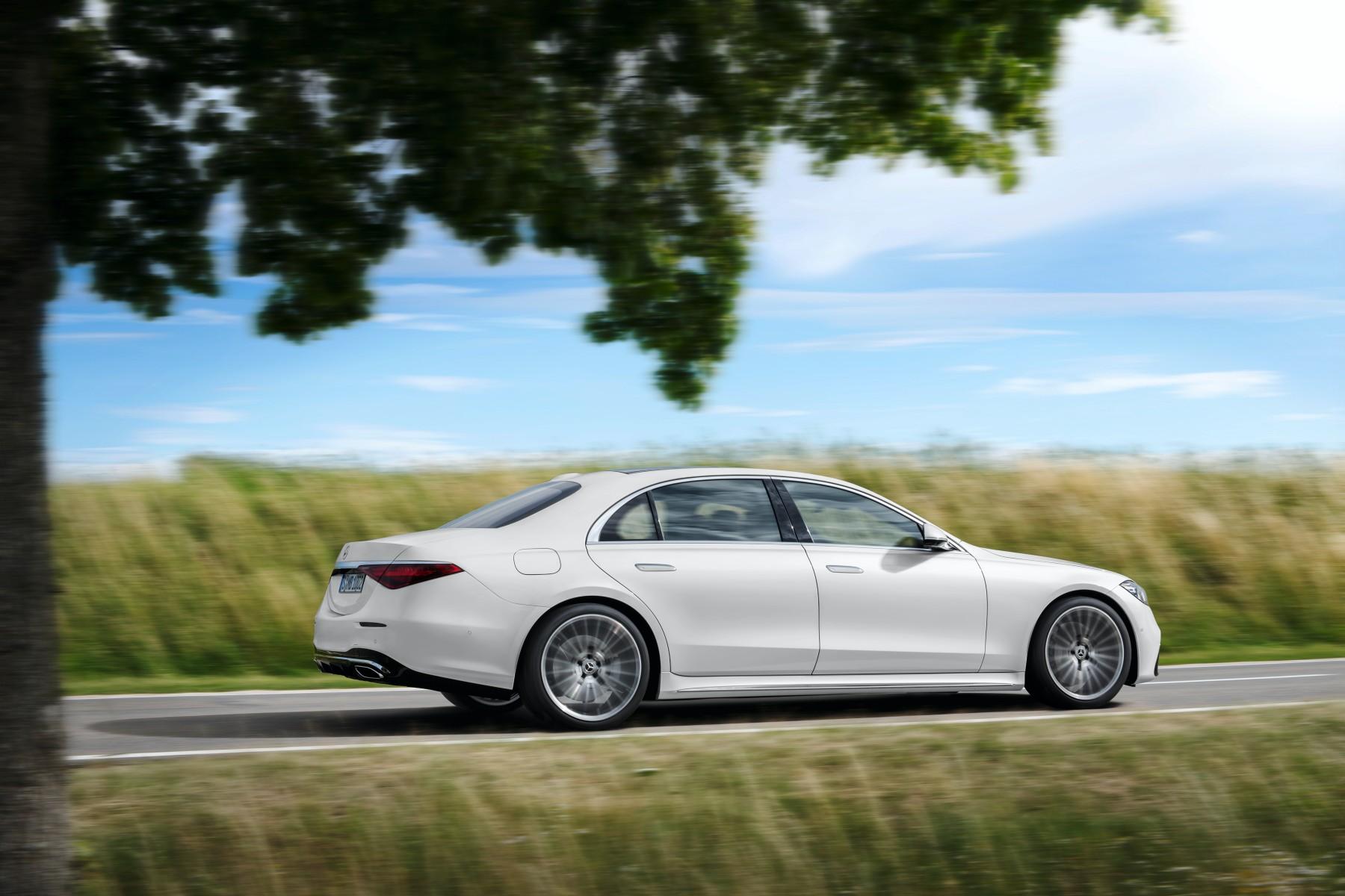 Mercedes klasy S.